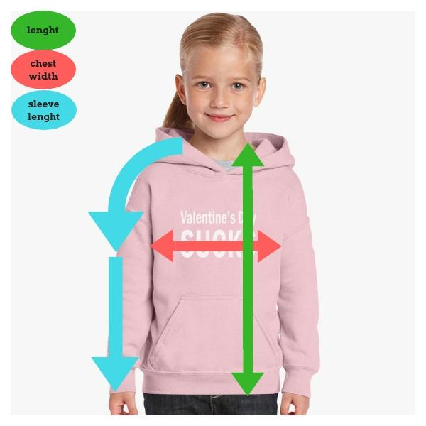 Children's Clothing Sizes for Hoodies