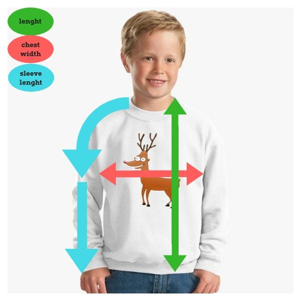 Sweatshirt Children's Clothing Sizes